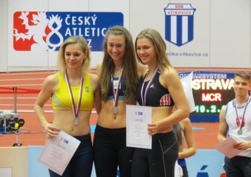 Úspěch našich atletů na MR v Ostravě
