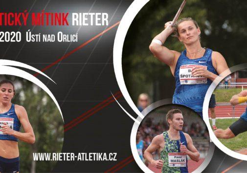 Atletický mítink RIETER 2020