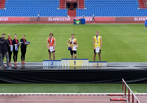 Dominik Vebr 3. na Mistrovství ČR v běhu na 800 m