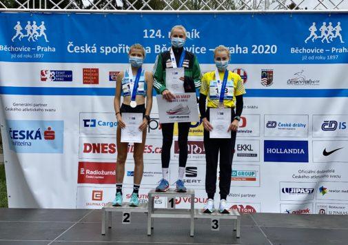 Tereza Šedová 3. na Mistrovství ČR v silničním běhu
