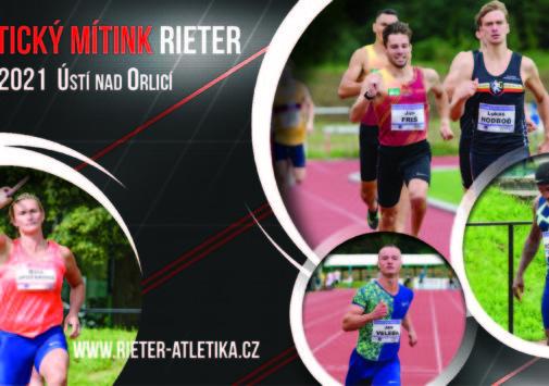 Atletický mítink Rieter 2021